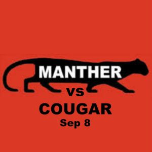 MANTHERS VS COUGARS PARTY